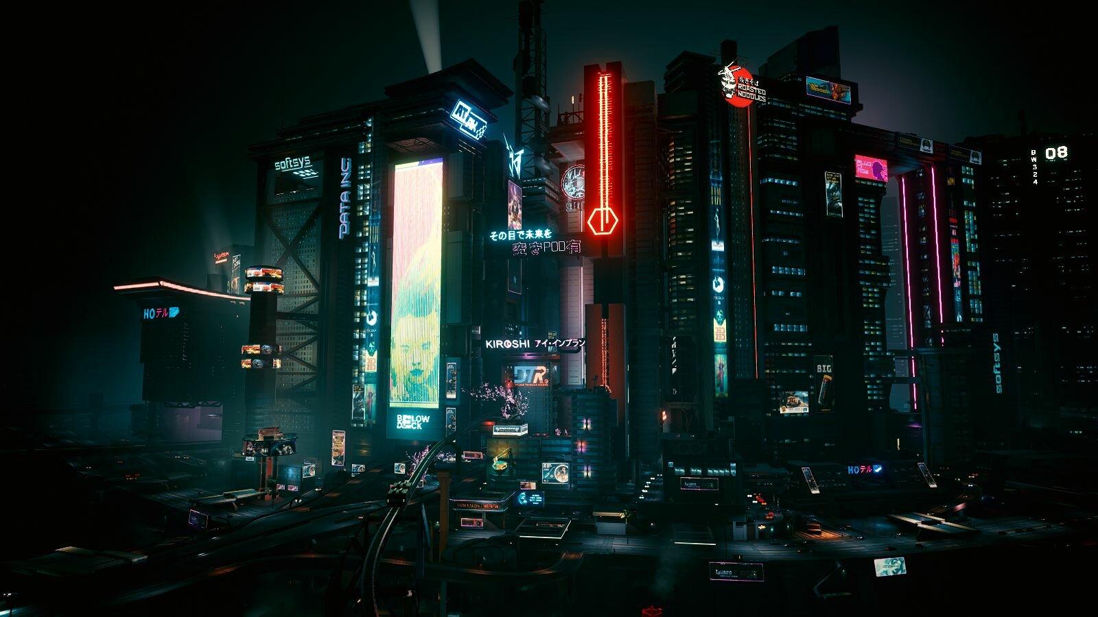 НАЙТ-СИТИ. Cyberpunk 2077
