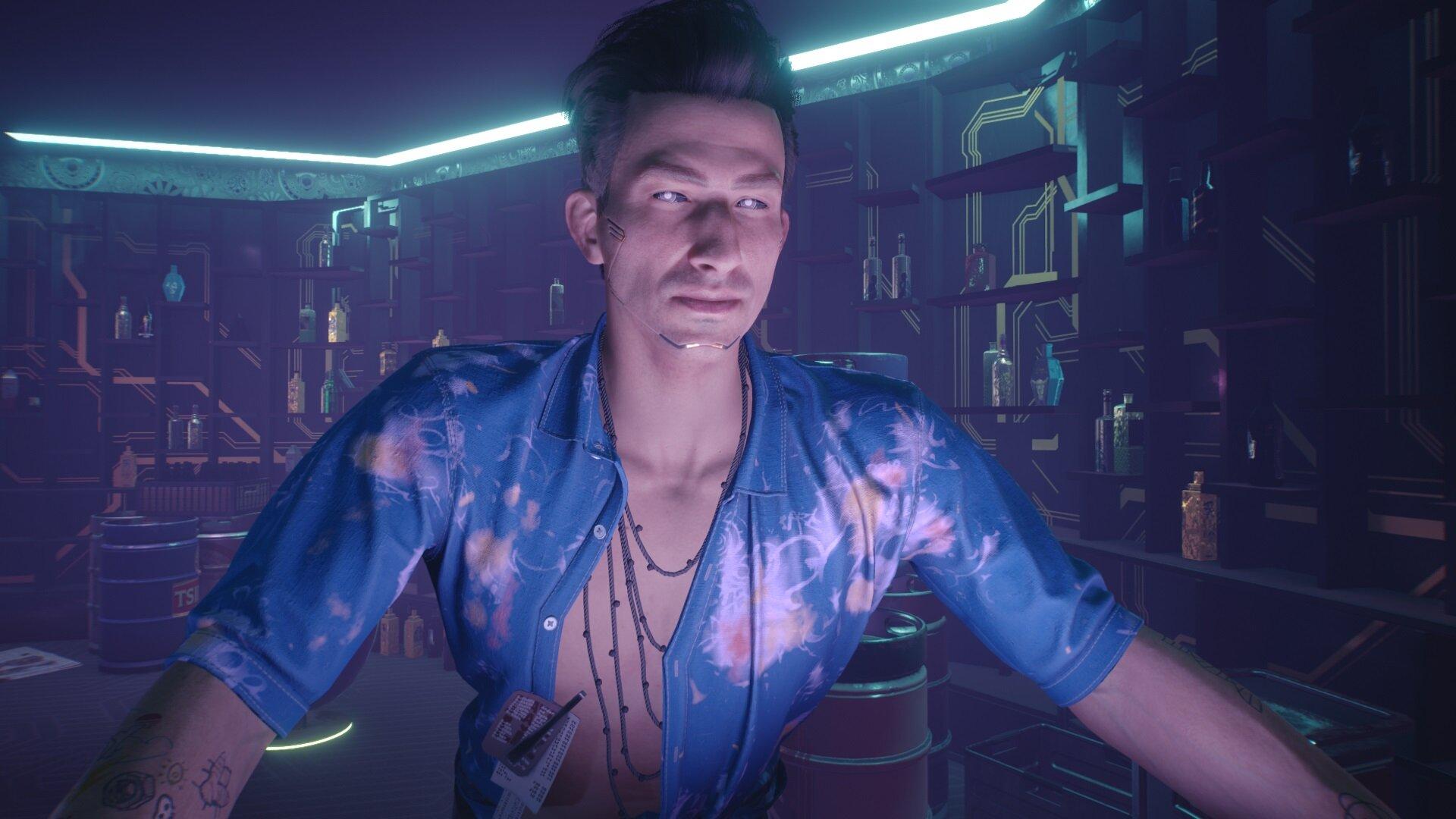 Cyberpunk 2077 Сюткин, ты ли это?