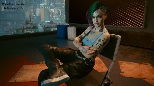 Джуди.. Cyberpunk 2077