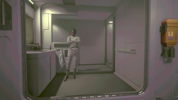 Ви в космическом бункере - а-ля Фаллаут ))