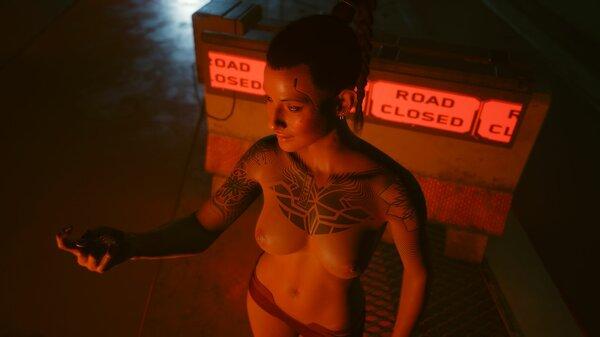 В подворотне... Cyberpunk 2077