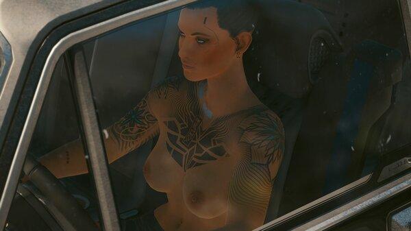 Когда жарко.. Cyberpunk 2077