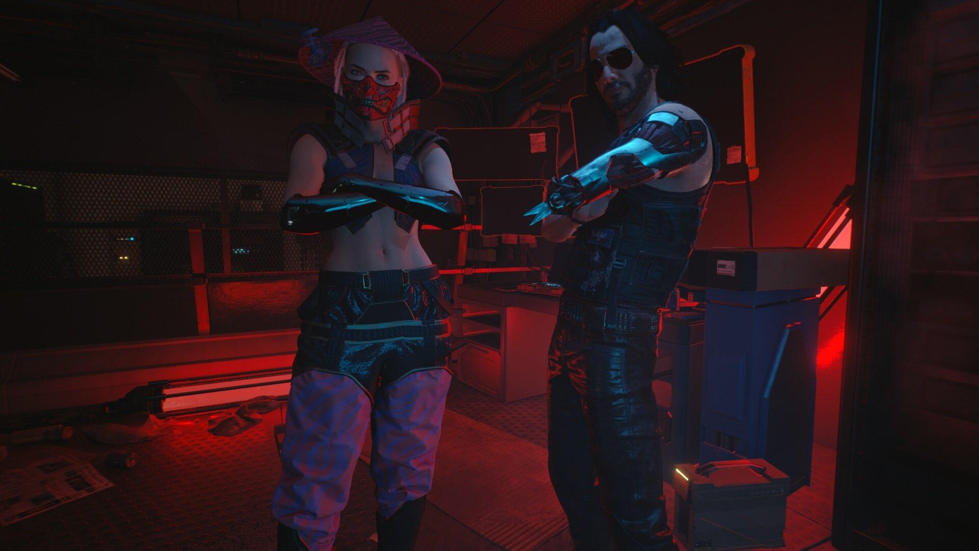 Cyberpunk 2077_wake the f**k up samurai