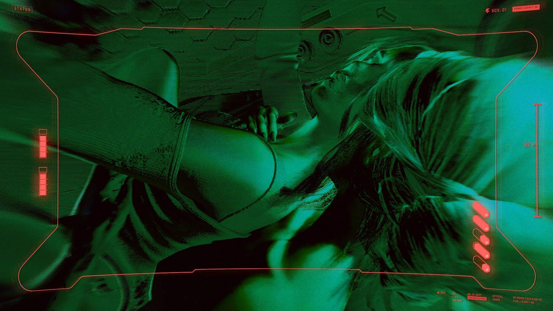 Cyberpunk 2077 Девочки синхронизировались