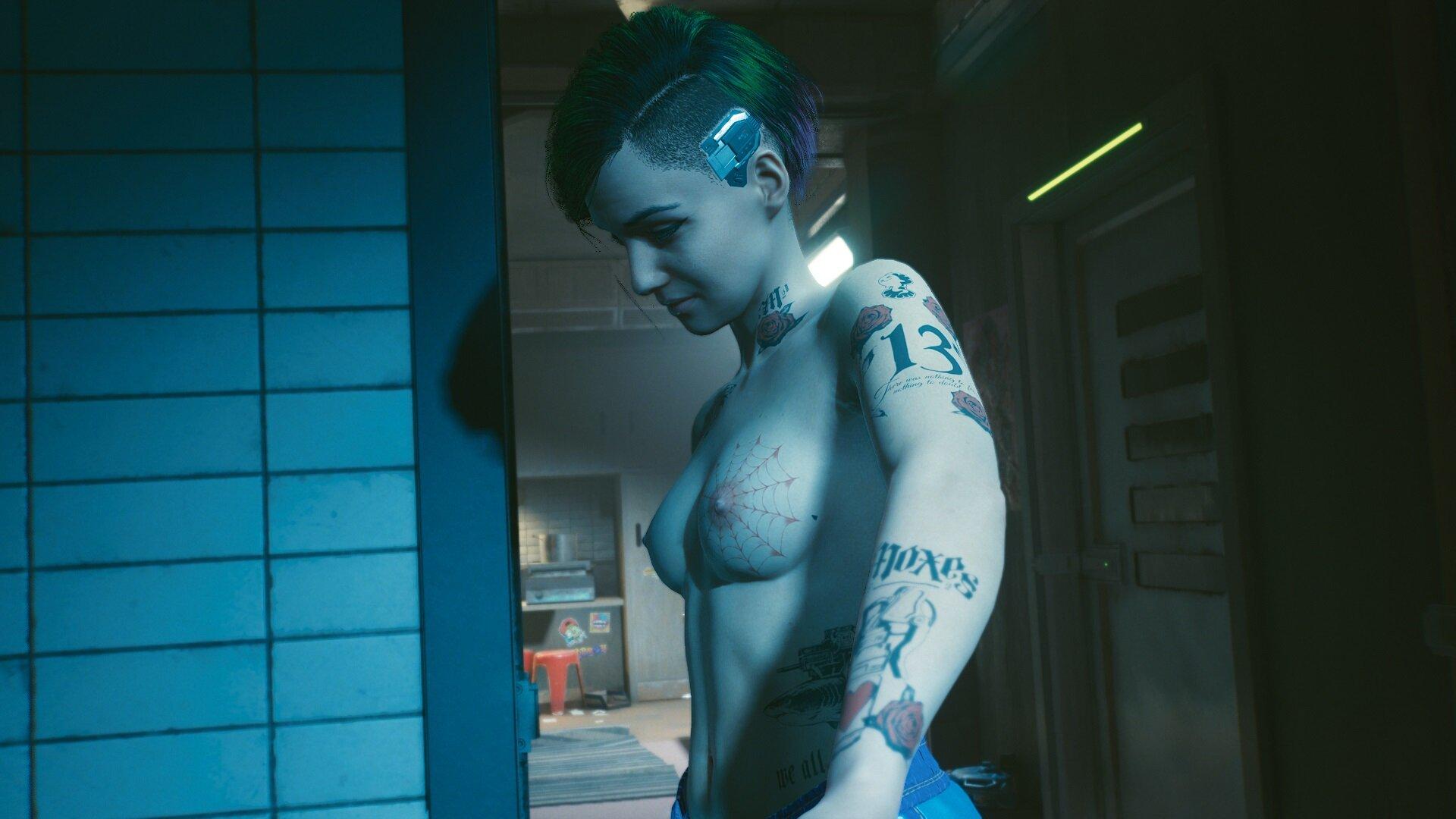 Cyberpunk 2077 Ночь с Джуди