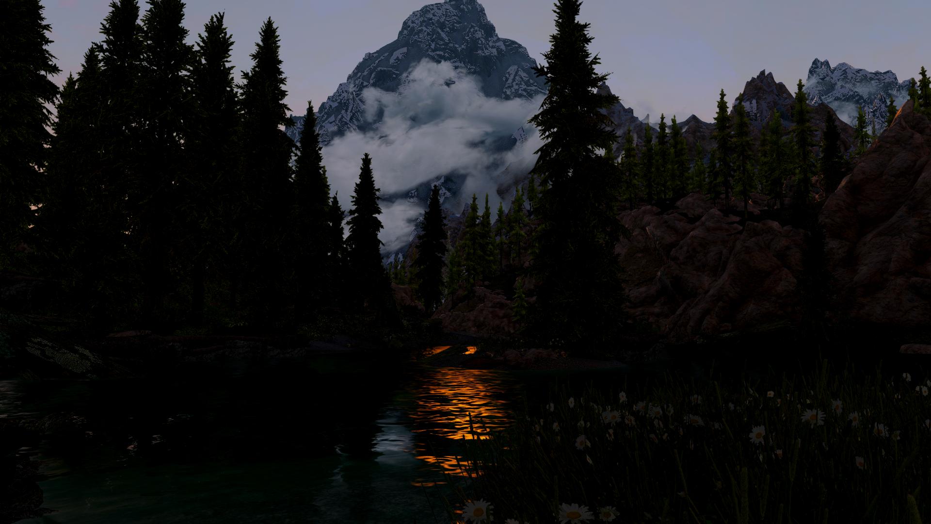 SkyrimSE - Гора