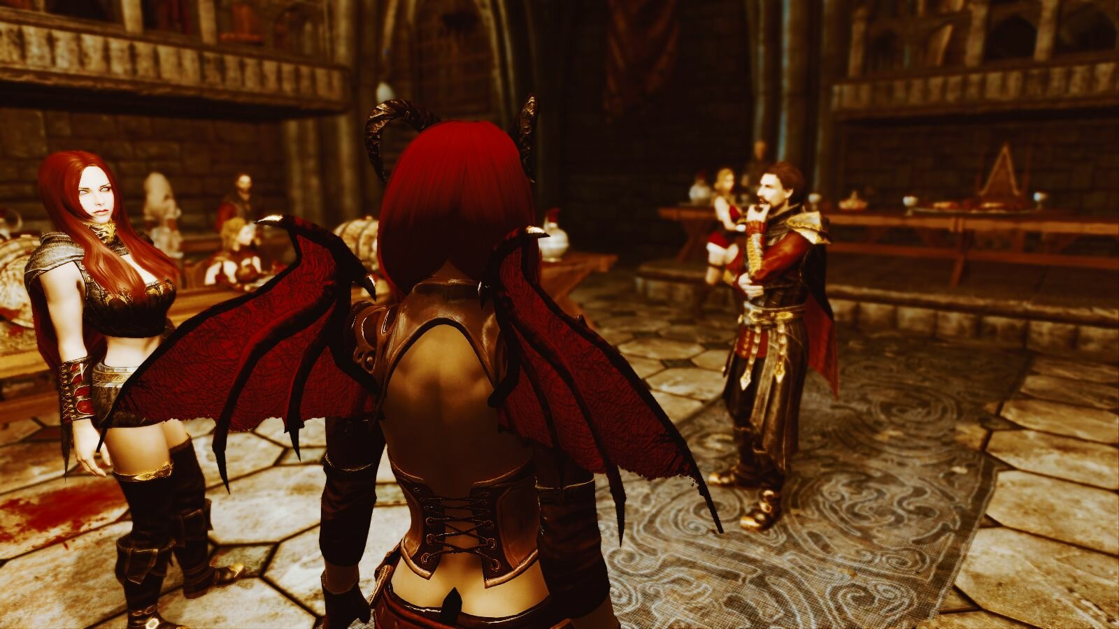 Сукукуб средь вампиров. SkyrimSE (сборка 6.0)