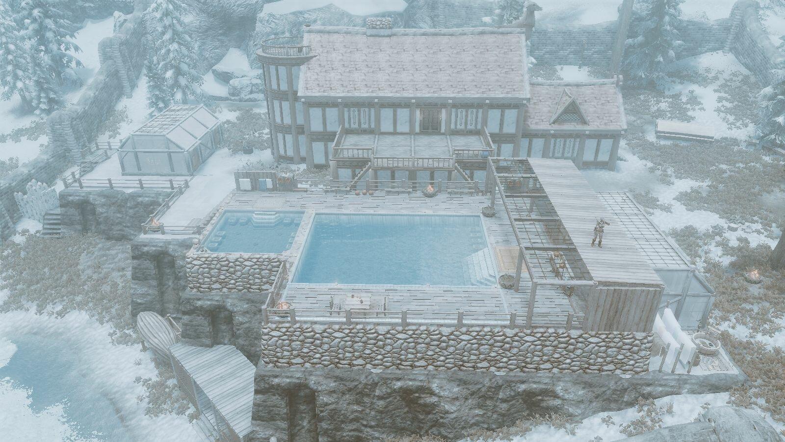 Расширенное поместье Уинстад.