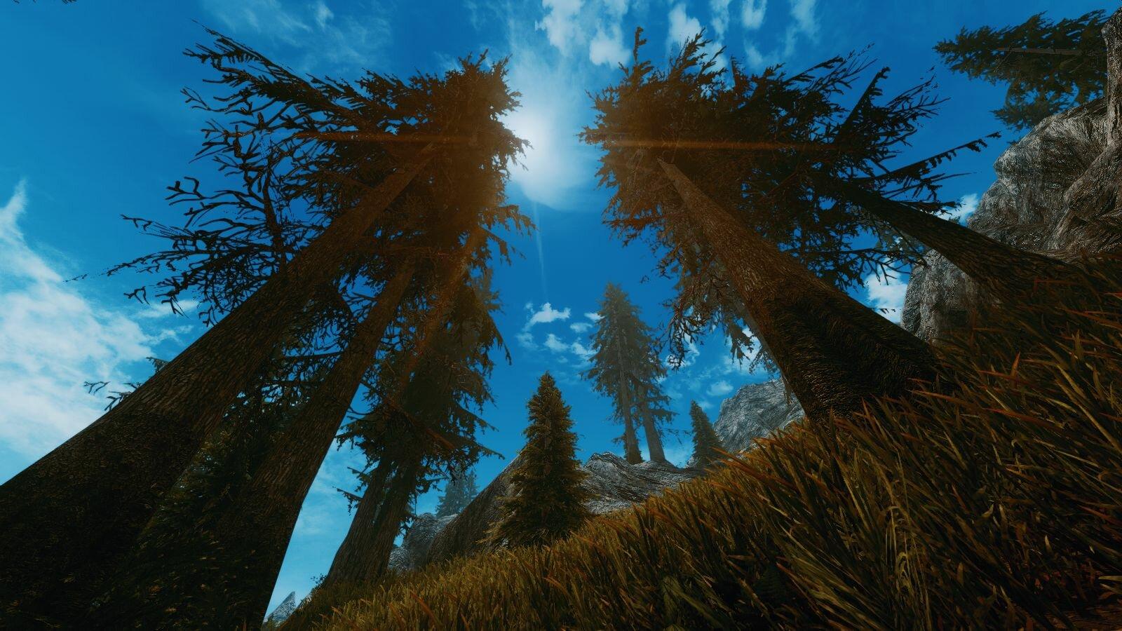 Небо.. SkyrimSE (сборка 6.0)