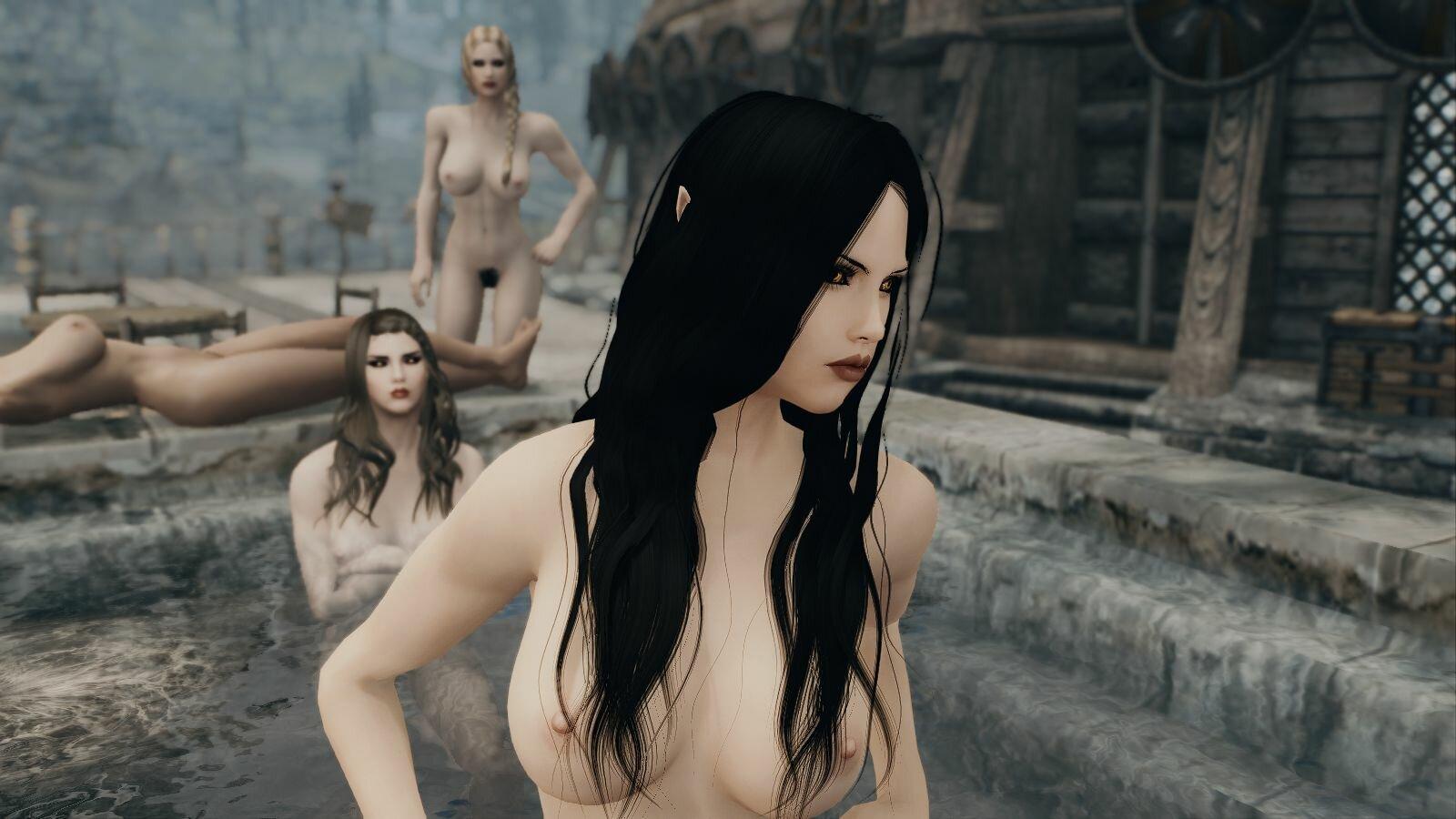 Эльфайна средь неживых.. SkyrimSE (сборка 6.0)