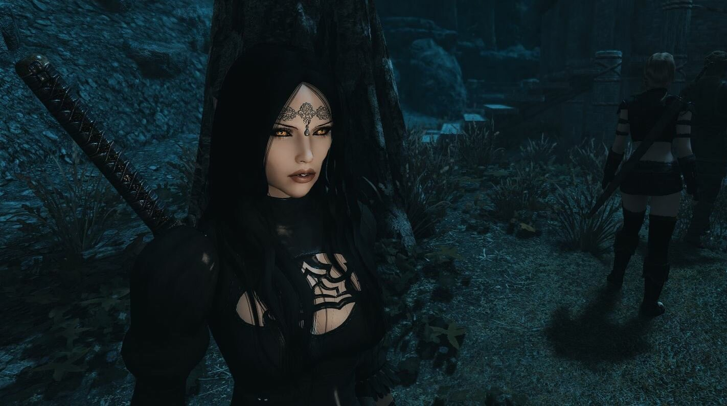 Мистическая Эльфайна.. SkyrimSE (сборка 6.0)