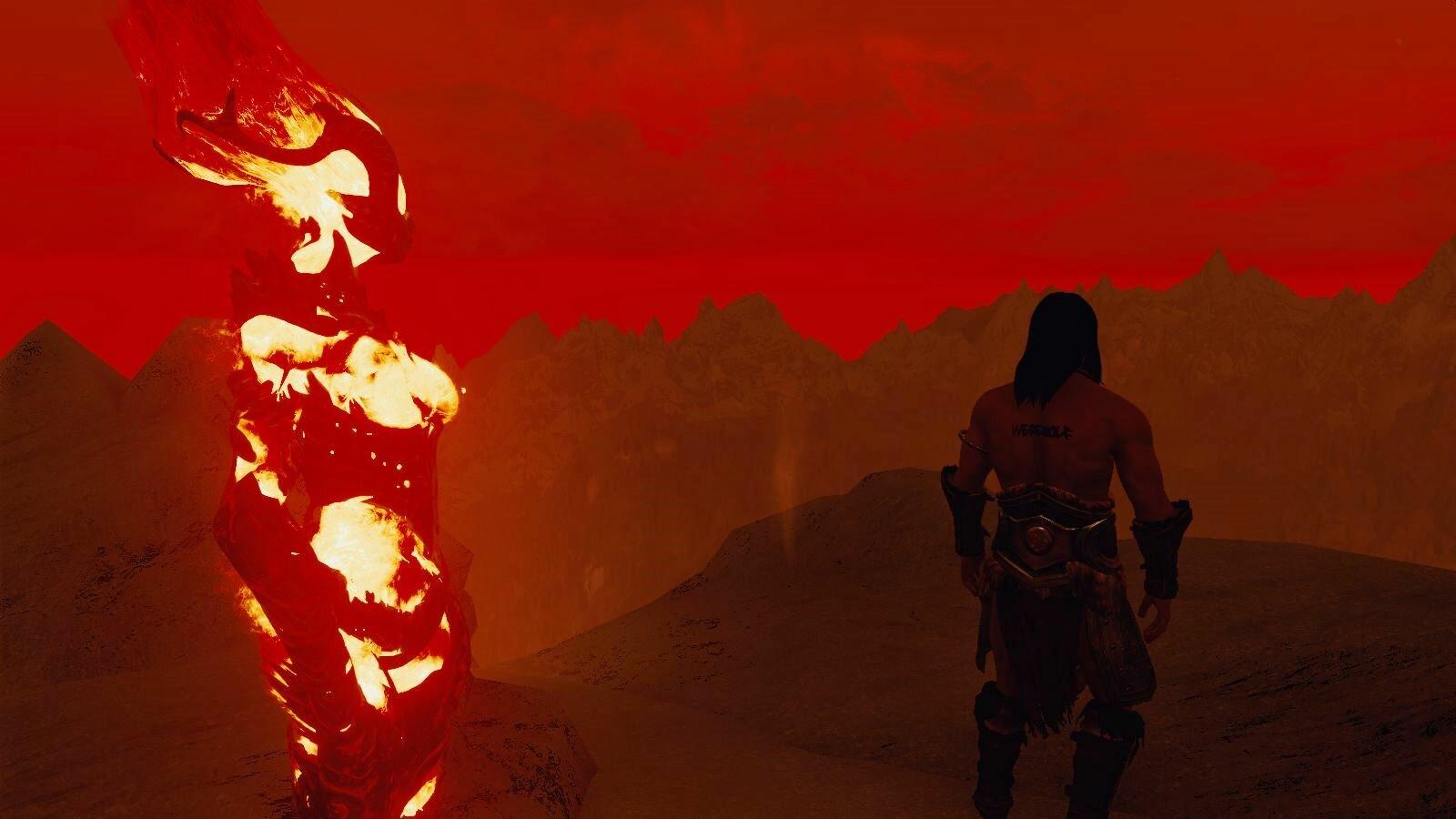 Огненный закат.. SkyrimSE (сборка 6.0)