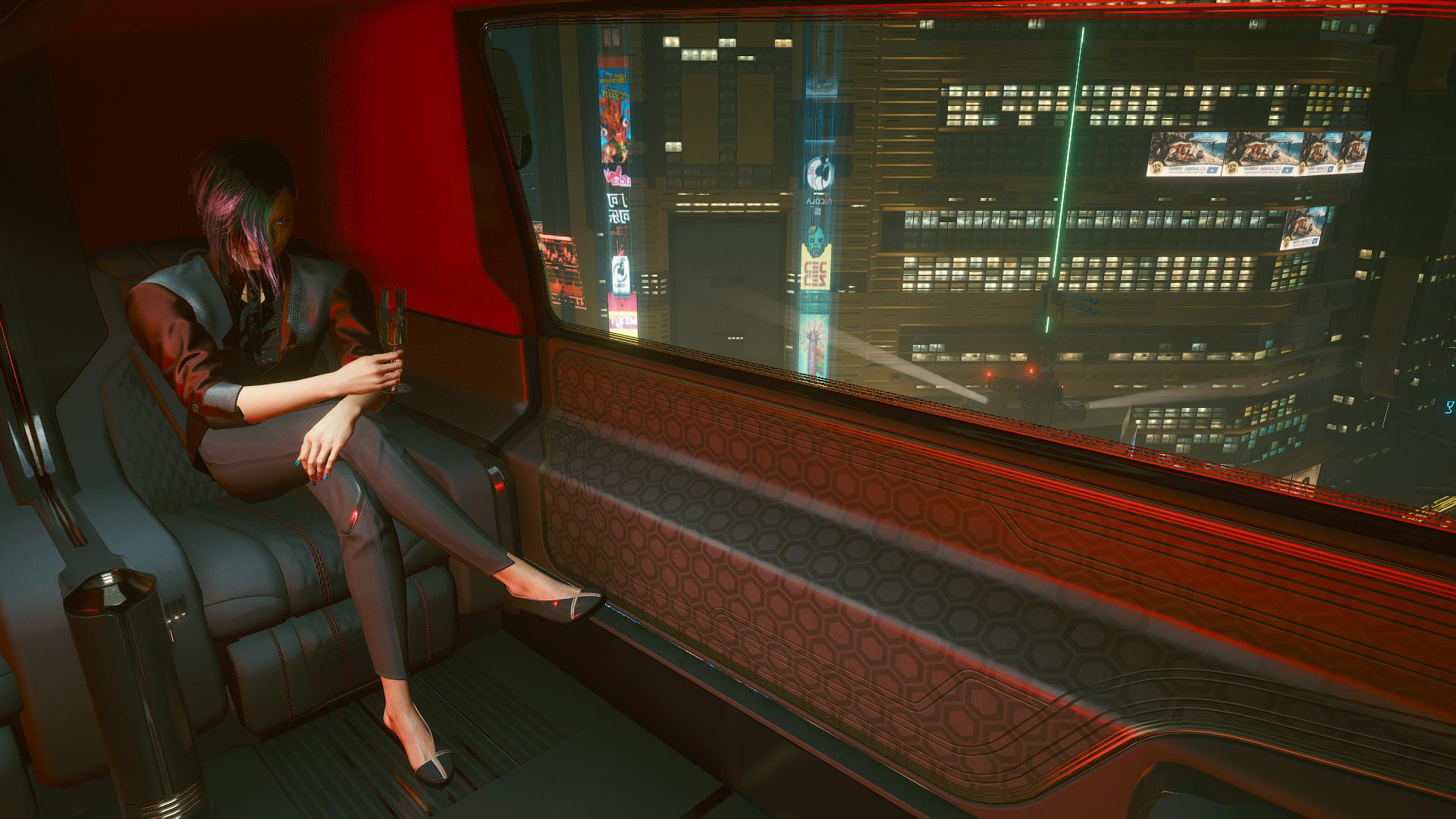 Джуди летит на ави в бар «Лиззис».