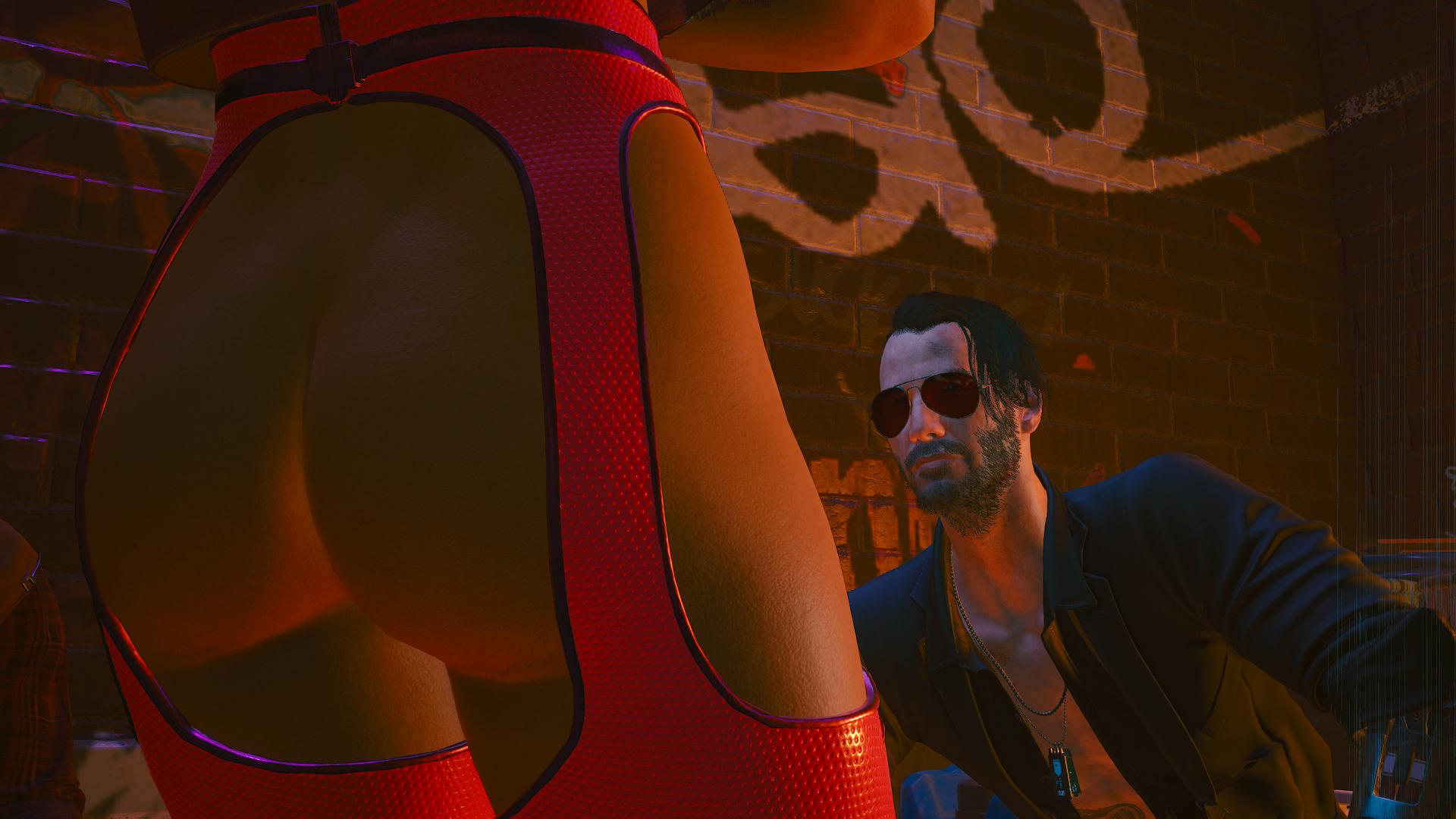 Ви и Джонни слушают уличного гитариста - 2.