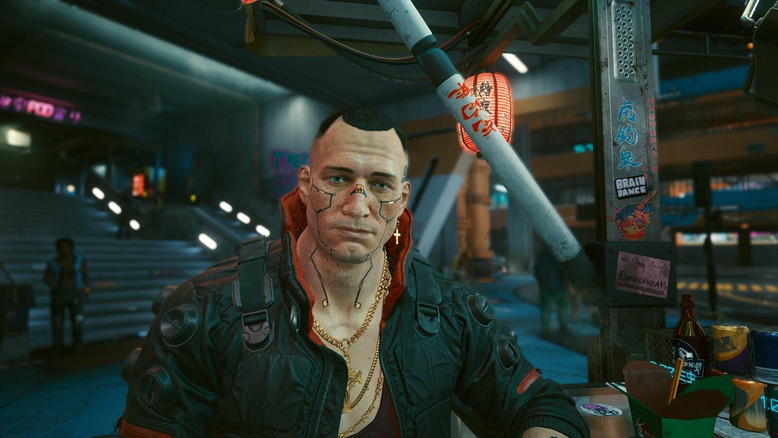 Джеки неплохой мужик! Cyberpunk 2077
