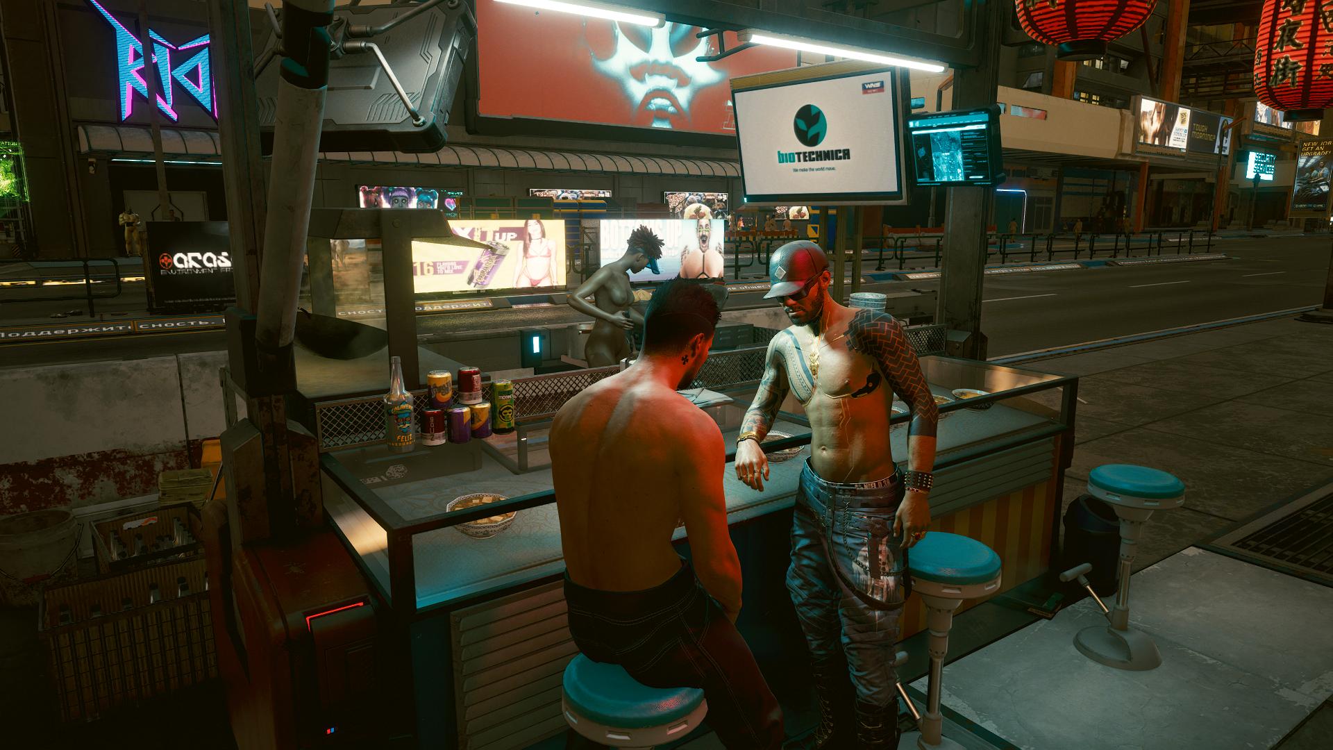 """Керри:-""""Пойдём посмотрим как можно попасть в клуб «Райот»."""