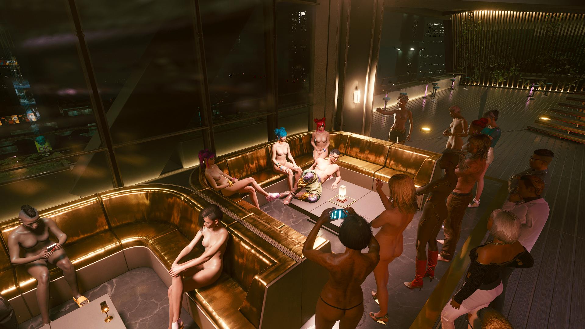 Ви и группа Us Cracks в баре «Тёмная материя»-2.