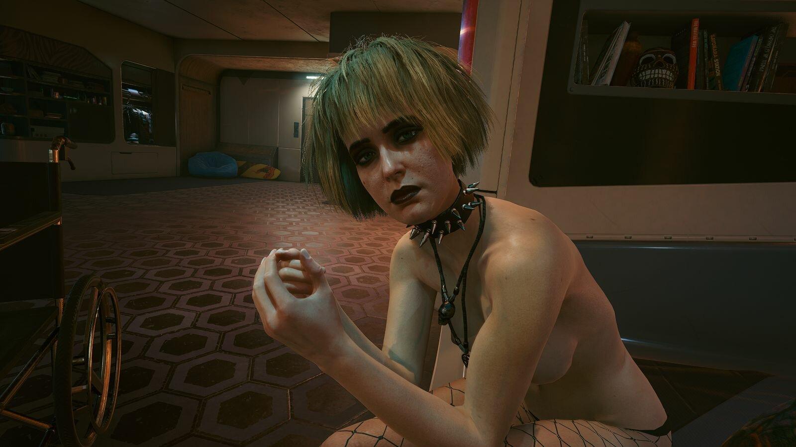 Мисти проводила домой.. Cyberpunk 2077