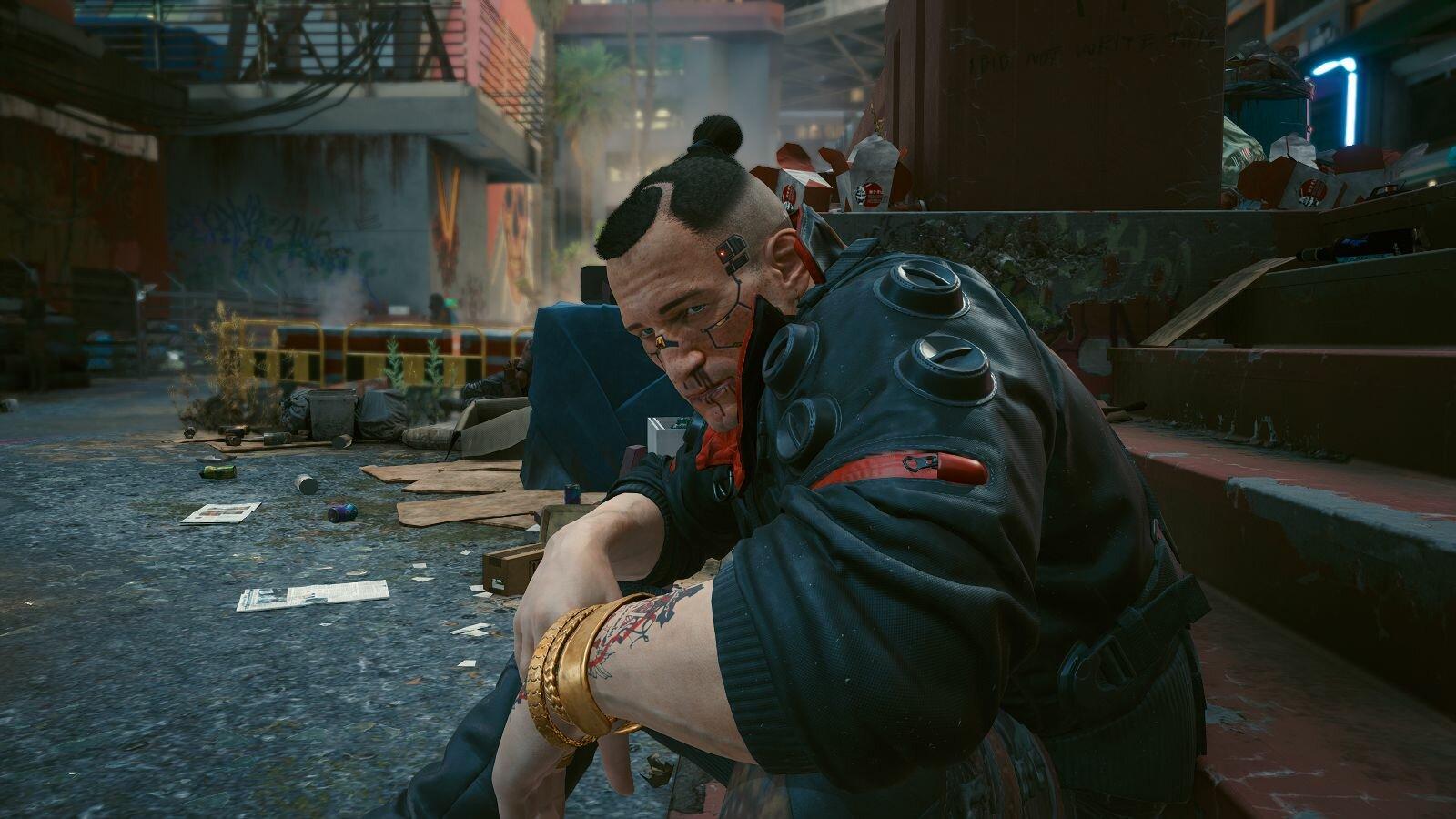 Джеки.. Cyberpunk 2077