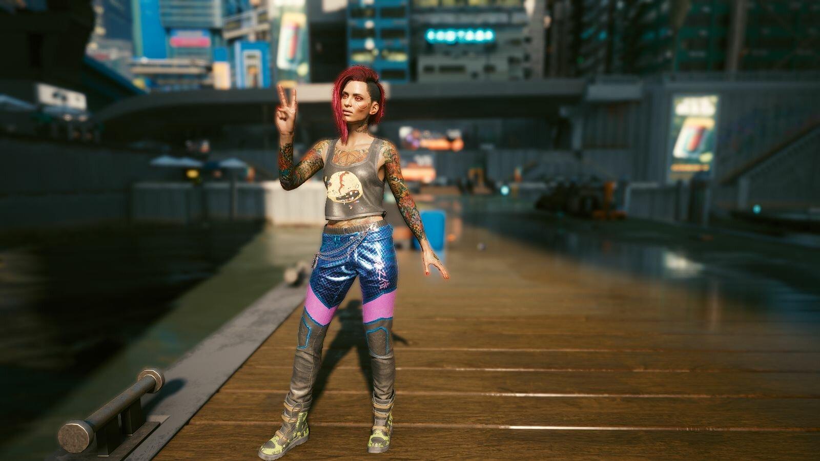Стильная ВИшка.. Cyberpunk 2077