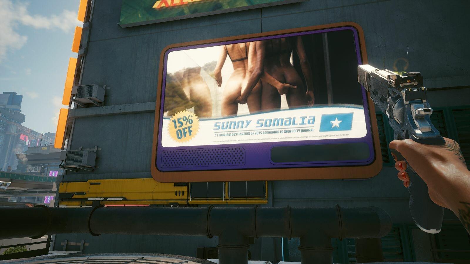 Реклама для взрослых, что то там о поддержке ;)