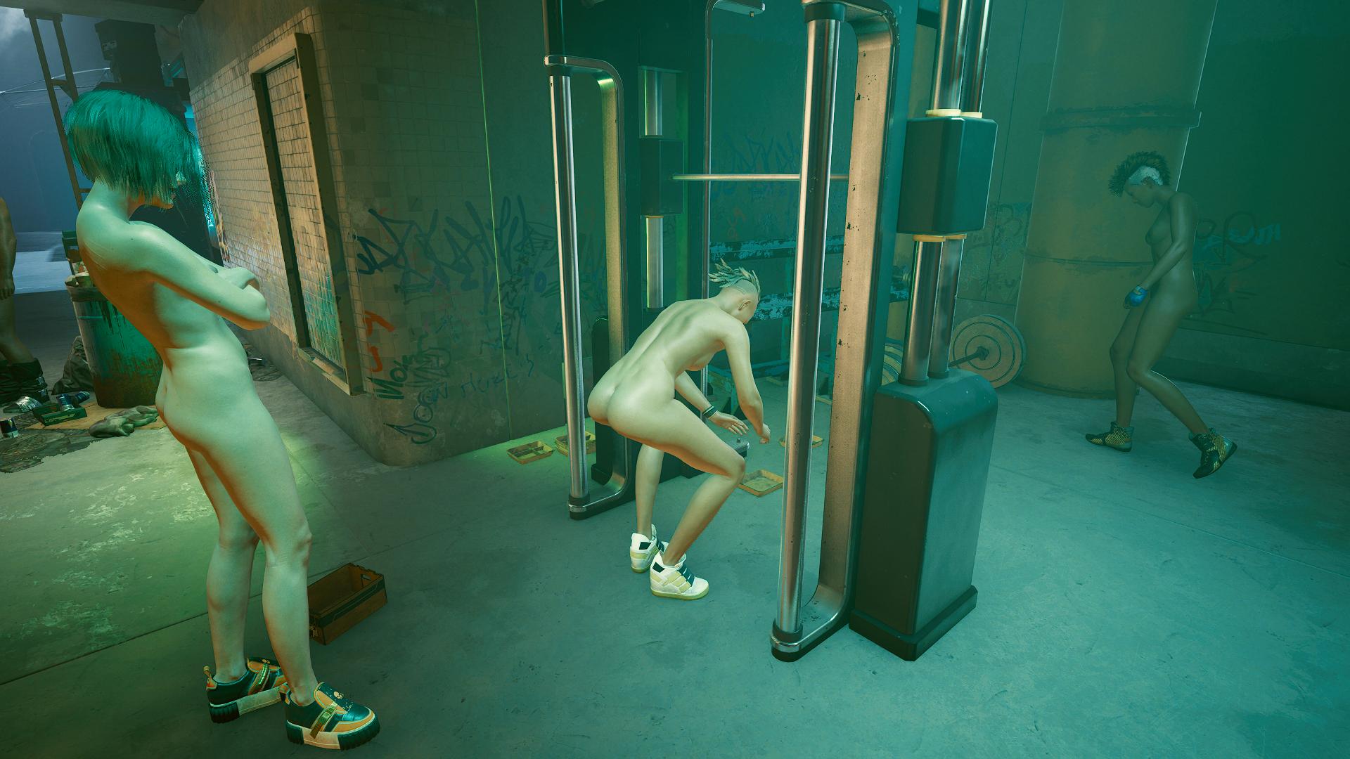 Ви в ню-фитнес зале.