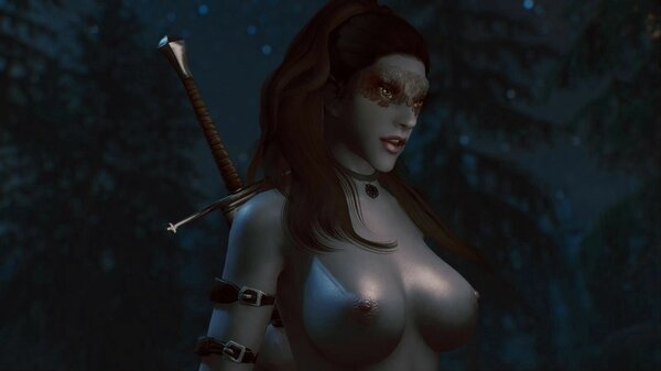 Дарклинг в лунном свете.. SkyrimSE (сборка 6.0)