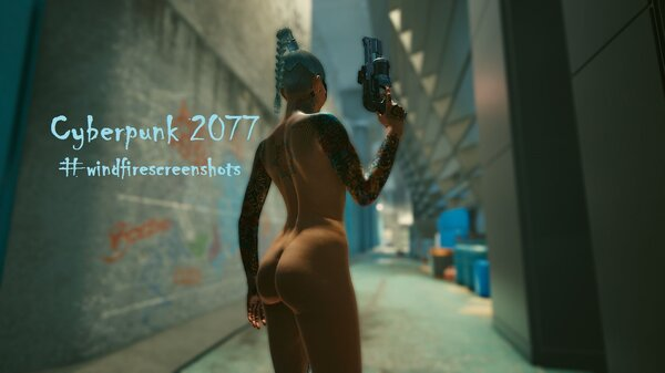 Cyberpunk 2077 глазами Windfire