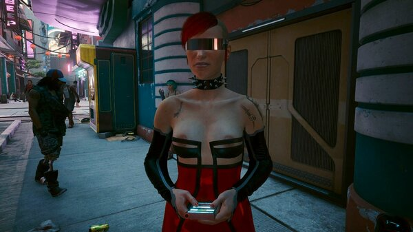Мадамы дерзят нарядами ;) Cyberpunk 2077