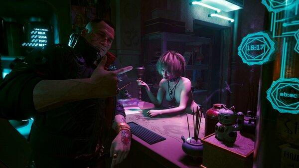 Джеки знакомит с Мисти.. Cyberpunk 2077