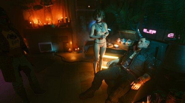 Мисти в центре внимания.. Cyberpunk 2077