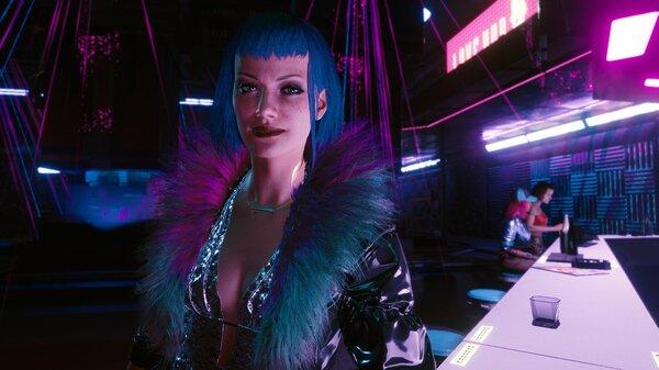 Заказчица.. Cyberpunk 2077