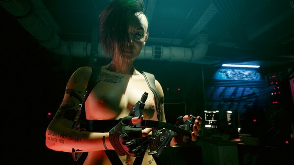 ДЖУДИ. Cyberpunk 2077
