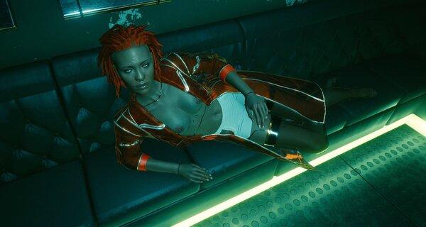 ..и не стистняюсь. Cyberpunk 2077