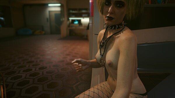 Мисти зашла по-дружески.. Cyberpunk 2077