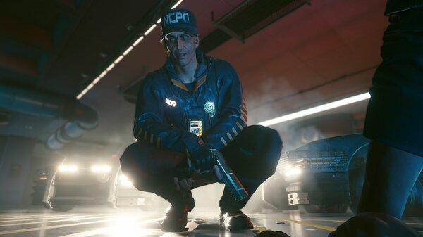 Полицай. Cyberpunk 2077