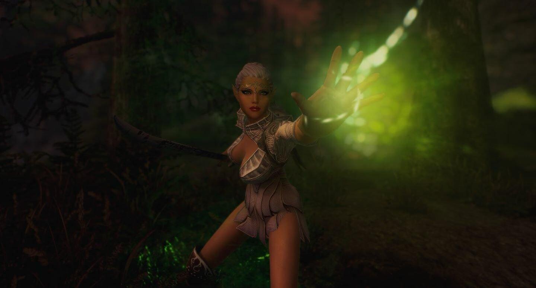 Эльфис с магией сприганов. SkyrimSE (сборка 6.0)
