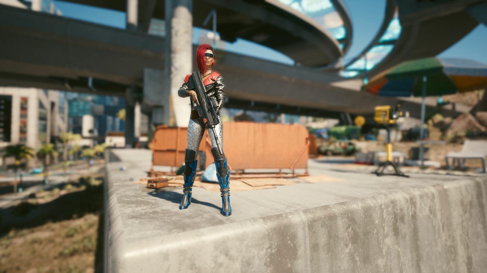 Под мостами.. Cyberpunk 2077