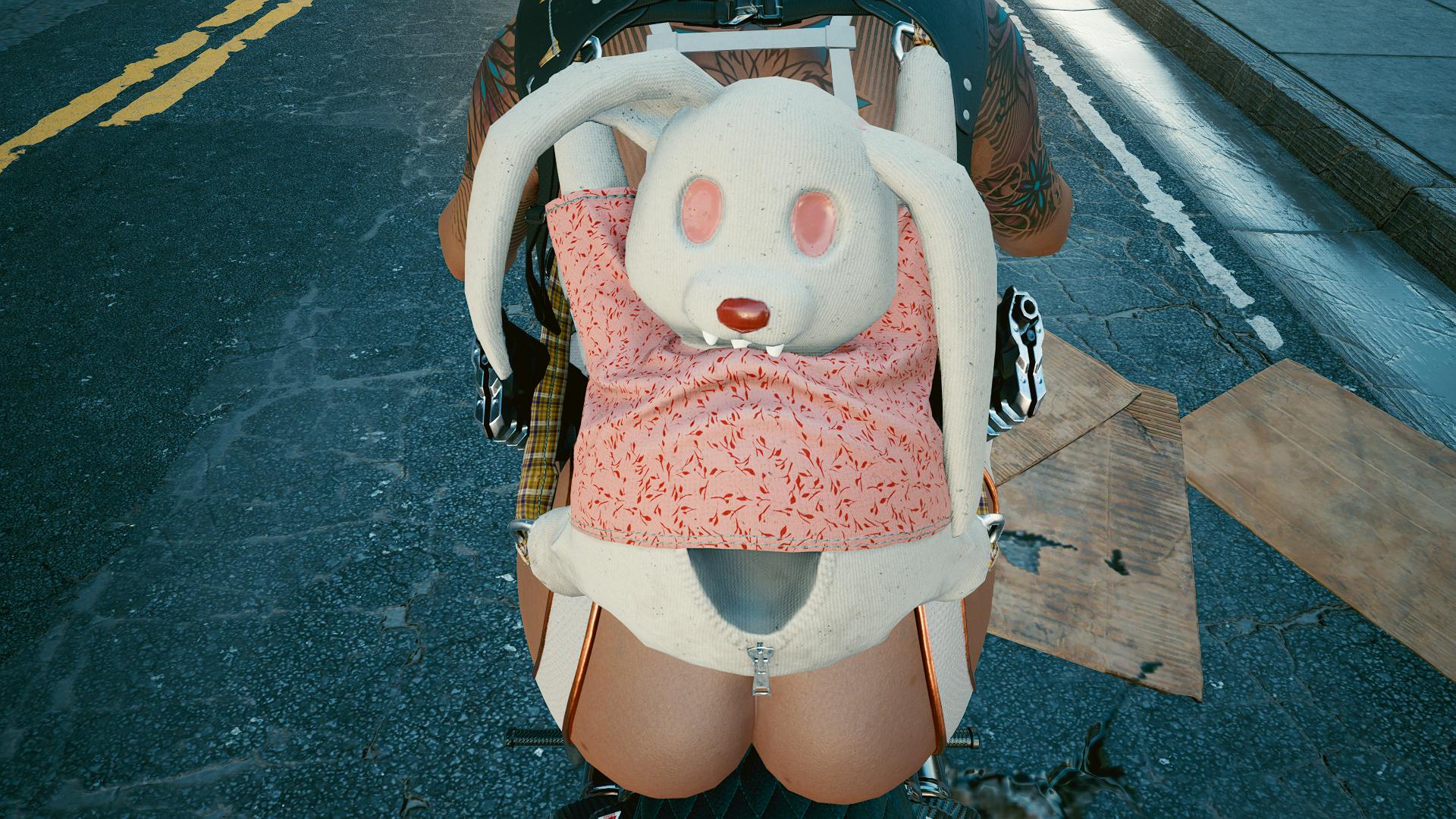 Кролик-зубастик.