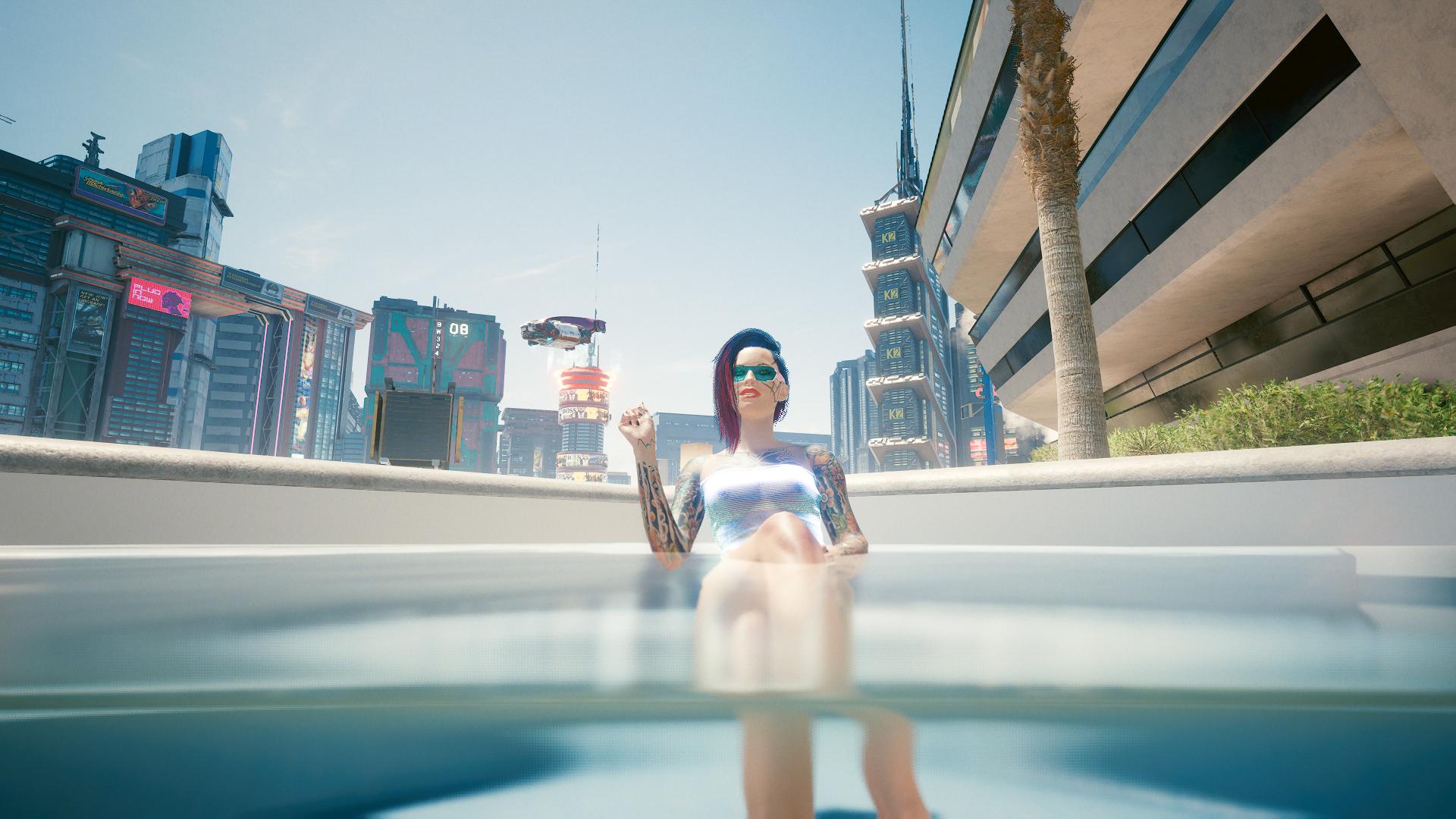 Ви в бассейне.