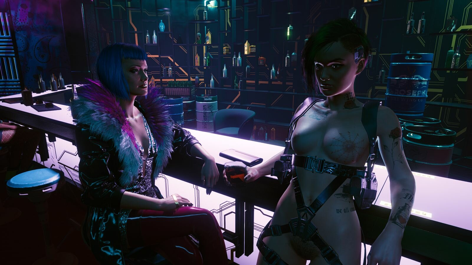 Известные дамочки.. Cyberpunk 2077