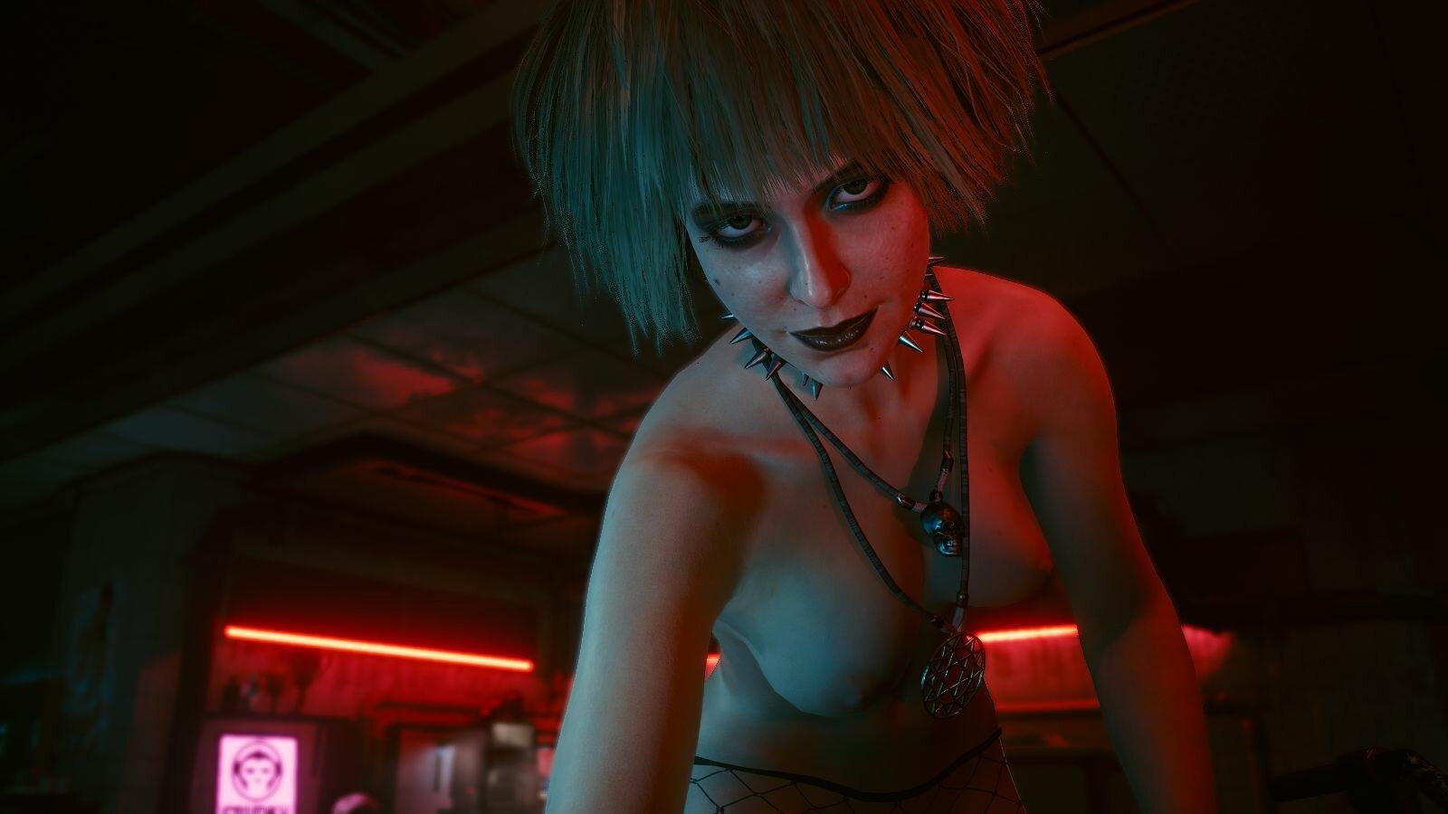 Мистическая Мисти.. Cyberpunk 2077