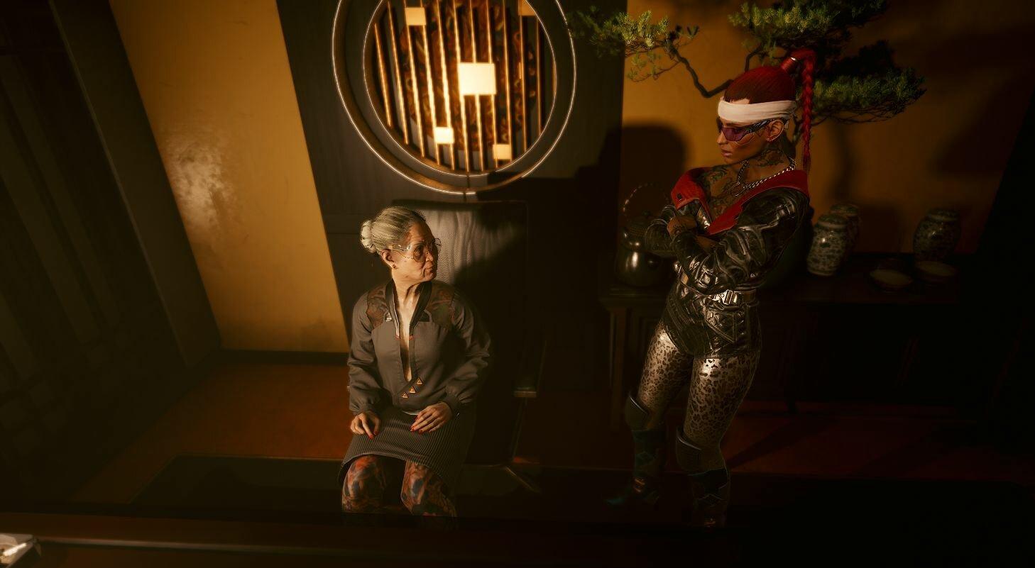 Ви пришла к Вакако Окада. Cyberpunk 2077