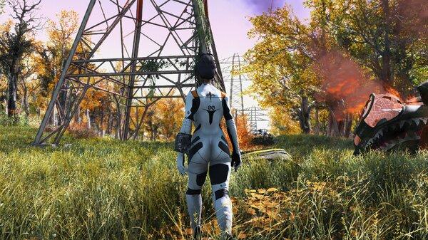 Fallout 4 Осень, ну давай у листьев спросим