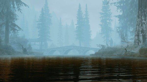 Пейзаж.. Skyrim SE (сборка 7.0)